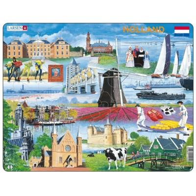 Larsen-KH10-NL Frame Puzzle - Holland