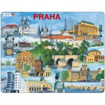 Larsen-KH12 Frame Puzzle - Souvenir from Prague