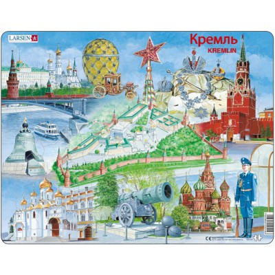 Larsen-KH14 Frame Jigsaw Puzzle - Kremlin Souvenir