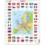 Larsen-KL1-GB Frame Puzzle - Europe