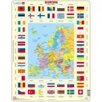 Larsen-KL1-NL Frame Puzzle - Europe (in Dutch)