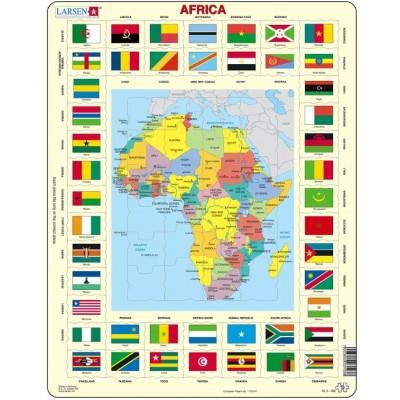 Larsen-KL3-GB Frame Jigsaw Puzzle - Africa