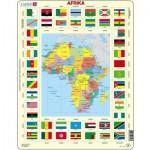 Larsen-KL3-NL Frame Jigsaw Puzzle - Africa (in Dutch)