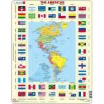 Puzzle  Larsen-KL4-GB America + Flags