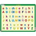 Larsen-LS14-ES Frame Jigsaw Puzzle - ABC abc (in Spanish)