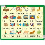 Puzzle  Larsen-LS31 Learn to read (lower cases) - Norwegian
