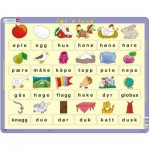 Puzzle  Larsen-LS32 Learn to read (lower cases) - Norwegian