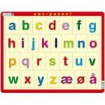 Puzzle  Larsen-LS33 The Alphabet, lower cases (Norwegian)