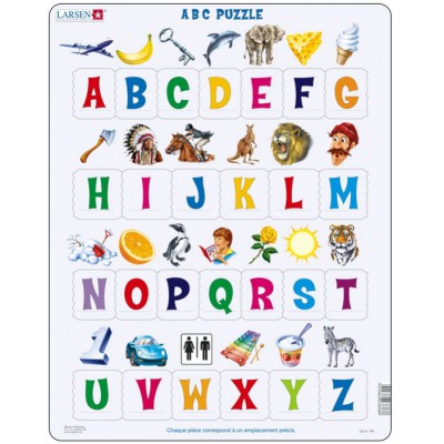 Larsen-LS826-FR ABC Puzzle (French)