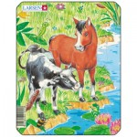 Larsen-M1-2 Frame Jigsaw Puzzle - Cute Animals