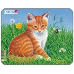 Larsen-M13-1 Frame Jigsaw Puzzle - Cats