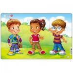 Larsen-N7-1 Frame Puzzle - Children