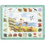 Larsen-NA2-IT Frame Jigsaw Puzzle - Seaside (in Italian)