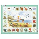 Larsen-NA2-NL Frame Jigsaw Puzzle - Seaside (in Dutch)