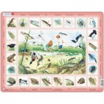 Larsen-NA3-NL Frame Puzzle - Pond (in Dutch)