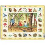 Larsen-NA4-GB Frame Puzzle - English Learning