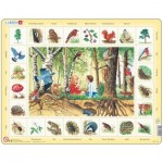 Larsen-NA4-NL Frame Jigsaw Puzzle - Forest (in Dutch)