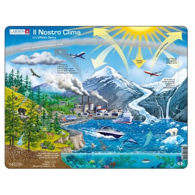 Larsen-NB1-IT Frame Jigsaw Puzzle - Il Nostro Clima (in Italian)