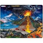 Larsen-NB2-ES Frame Puzzle - Volcanes (in Spanish)
