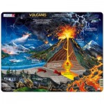 Larsen-NB2-FR Frame Puzzle - Volcans (in French)