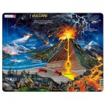 Larsen-NB2-IT Frame Jigsaw Puzzle - I Vulcani (in Italian)