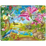 Larsen-NB4-GB Frame Puzzle  - The Flowers and the Bees