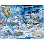 Larsen-NB7-ES Frame Puzzle  - Hacia el Polo Norte (in Spanish)