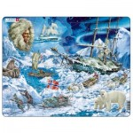 Larsen-NB7 Frame Jigsaw Puzzle - Towards the North Pole