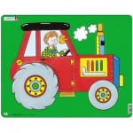 Larsen-NM3 Frame Jigsaw Puzzle - Tractor