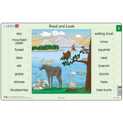 Larsen-RA03-EN-5-6 Frame Puzzle - Read and Look 05-06