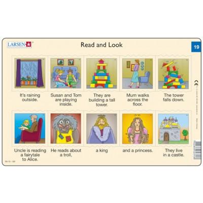 Larsen-RA10-EN-19-20 Frame Puzzle - Read and Look 19-20