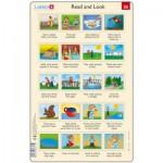 Larsen-RA13-EN-25-26 Frame Puzzle - Read and Look 25-26