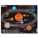 Larsen-SS1-IT Frame Jigsaw Puzzle - Sistema Solare (in Italian)