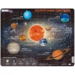 Larsen-SS1-RU Frame Jigsaw Puzzle - Solar System (in Russian)