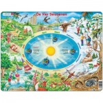 Larsen-SS3-NL Frame Jigsaw Puzzle - The Seasons (in Dutch)