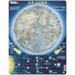 Larsen-SS5-ES Frame Jigsaw Puzzle - La Luna (in Spanish)