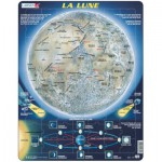 Larsen-SS5-FR Frame Jigsaw Puzzle - La Lune (in French)