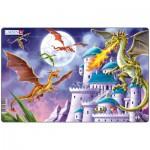 Larsen-U12-1 Frame Jigsaw Puzzle - Dragons