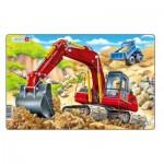 Larsen-U19-1 Frame Puzzle - Excavator