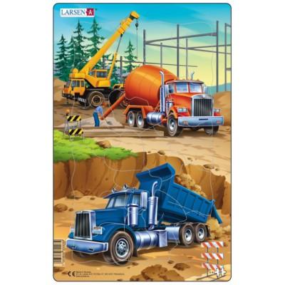 Larsen-U4-1 Frame Jigsaw Puzzle - Construction