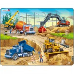 Larsen-US1 Frame Jigsaw Puzzle - Construction