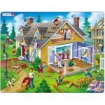 Larsen-US18 Frame Jigsaw Puzzle - House