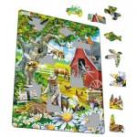 Larsen-US39 Frame Jigsaw Puzzle - Beekeeping