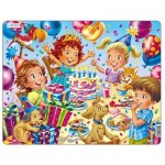Larsen-US40 Frame Jigsaw Puzzle - Birthday Party
