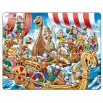 Larsen-US41 Frame Jigsaw Puzzle - Vikings