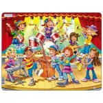 Larsen-US42 Frame Puzzle - Kids Band