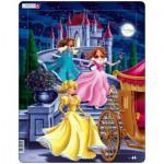 Larsen-US5 Frame Jigsaw Puzzle - Princesses