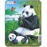 Larsen-V4-1 Frame Jigsaw Puzzle - Panda