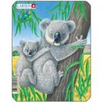 Larsen-V4-4 Frame Jigsaw Puzzle - Koala