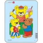 Larsen-Y1-1 Frame Jigsaw Puzzle - Teddy Bears